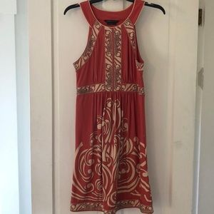 BCBG peach dress size S